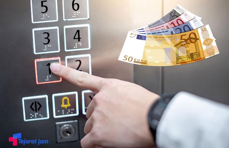 نیاز ارزی سالانه هر دستگاه آسانسور تا ۱۰ هزار یورو